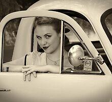 Julia Drives in 55 by SunseekerPix