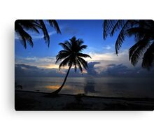 Before the Sun Canvas Print