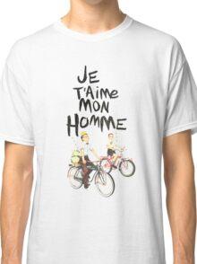 Je T'aime Mon Homme Classic T-Shirt