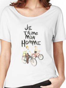 Je T'aime Mon Homme Women's Relaxed Fit T-Shirt
