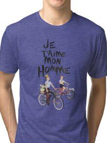 Je T'aime Mon Homme Tri-blend T-Shirt