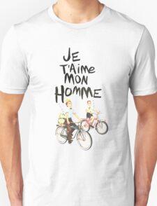 Je T'aime Mon Homme Unisex T-Shirt