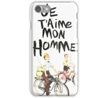 Je T'aime Mon Homme iPhone Case/Skin