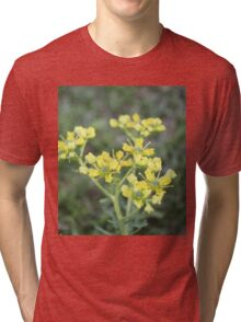 Brush your hand against my ear Tri-blend T-Shirt