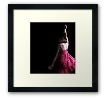 everyday she dances, simply for the sake of dancing Framed Print