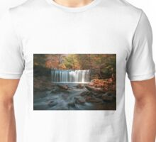 October Morning at Oneida Falls Unisex T-Shirt