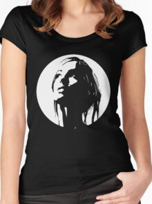 Mystery Girl Women's Fitted Scoop T-Shirt