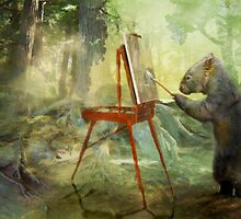 The Landscape Artist by Trudi's Images