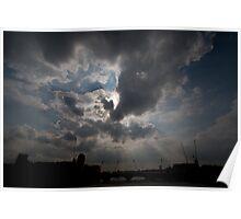 London Sky Poster