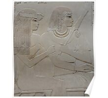 Ancient Egyptian couple Poster