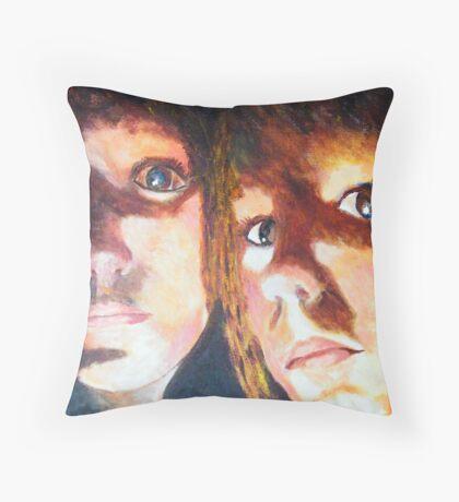 A Scarey Night Throw Pillow