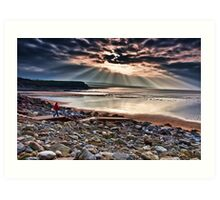 Lahinch Beach, County Clare, Ireland Art Print