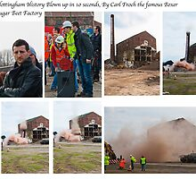 Sugar beet Factory, Last Blast  by Elaine123