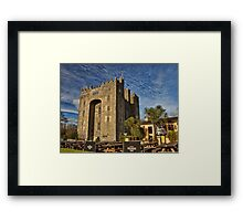 Bunratty Castle and Durty Nellys Pub, County Clare, Ireland Framed Print