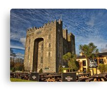 Bunratty Castle and Durty Nellys Pub, County Clare, Ireland Canvas Print