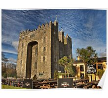 Bunratty Castle and Durty Nellys Pub, County Clare, Ireland Poster