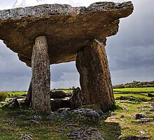 Dolmen, The Burren, County Clare, Ireland by Noel Moore Up The Banner Photography