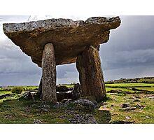 Dolmen, The Burren, County Clare, Ireland Photographic Print
