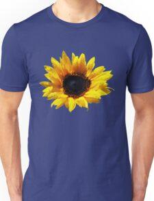 Summer Sunflower Painted Effect Unisex T-Shirt