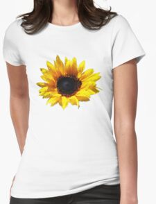 Summer Sunflower Painted Effect T-Shirt