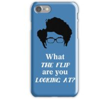 Maurice Moss - What the Flip iPhone Case/Skin