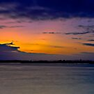 Smiths Lake, Last Light of the Day by bazcelt