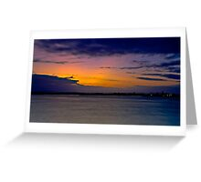 Smiths Lake, Last Light of the Day Greeting Card