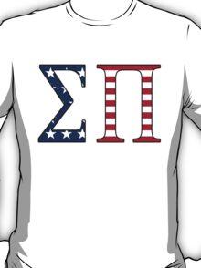 Sigma Pi American Flag T-Shirt