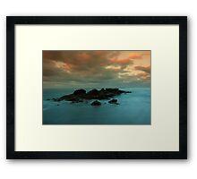 majesty sea Framed Print