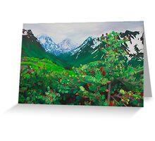 Alpine Ridge Greeting Card