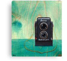 Ansco Camera Painting Canvas Print