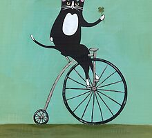 Lucky on a Bike by Ryan Conners