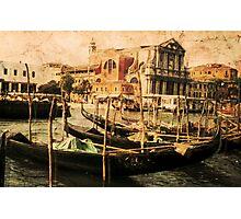 Venice 1968 Photographic Print
