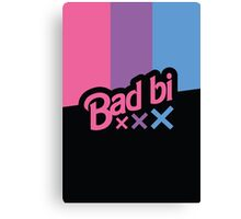 Bad Bi Canvas Print