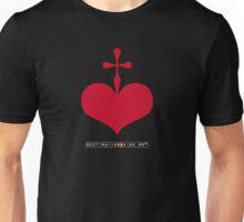 CrossHeart (red) Unisex T-Shirt