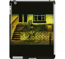 Lonely guitar iPad Case/Skin