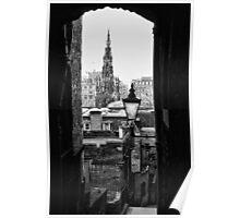 Walter Scott monument Edinburgh Poster