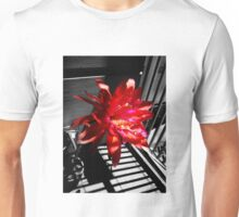 Cactus Flower Behind Bars Unisex T-Shirt