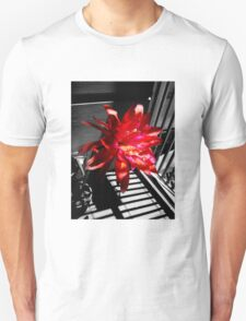 Cactus Flower Behind Bars T-Shirt