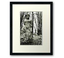 Persephone Hides On Bennachie Framed Print