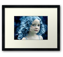 When the Blues Sing Framed Print