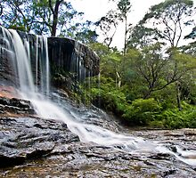 Snippet - Wentworth Falls Blue Mountains by ralli2010