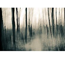 Turmoil surrounds us - an abstract expressionism Photographic Print