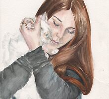 Charlotte And Fleur by MoniqueGeurts
