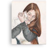 Charlotte And Fleur Canvas Print