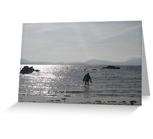 Scuba Diving, Kenmare bay, Eire Greeting Card