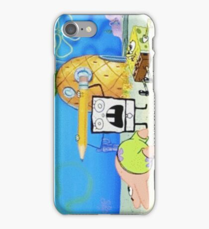 Doodlebob iPhone Case/Skin