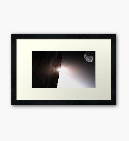 The Light Of Day  Framed Print