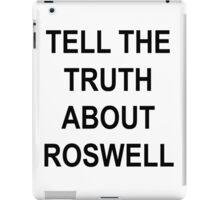 TELL THE TRUTH iPad Case/Skin