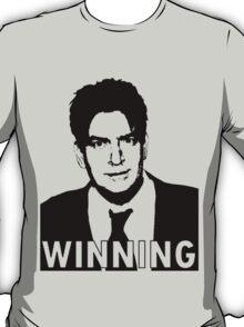 """Charlie Sheen """"Winning"""" 2 T-Shirt"""